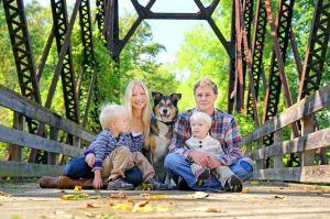 Border Collie Familienhund